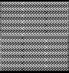 simple black and white striped seamless ethnic vector image