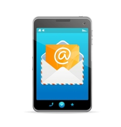 Send a letter icon vector image vector image
