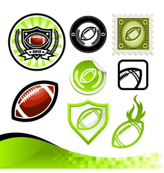 American Football Design Kit vector image vector image