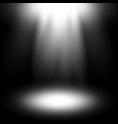 spotlight white color vector image