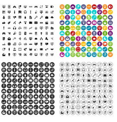 100 web and mobile icons set variant vector