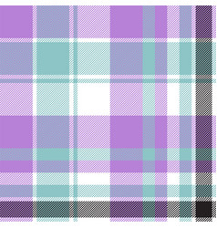 blue tartan plaid bacolor seamless pattern vector image