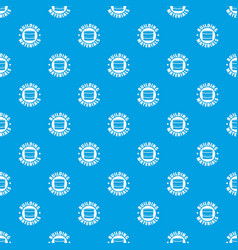 building material pattern seamless blue vector image