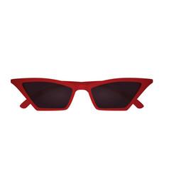 Cat eye sunglasses vector
