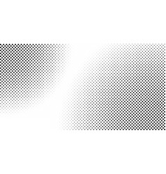 halftone background square halftone vector image