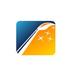 magic brush icon vector image
