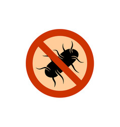 no salmonella sign vector image