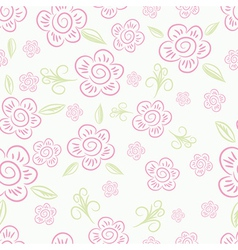 Seamless pink and green background Collection for vector image