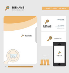 search goods online business logo file cover vector image