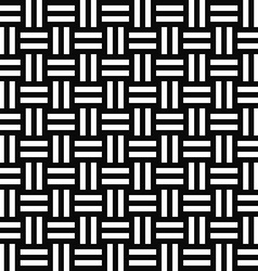 Simple repeating monochrome stripe pattern vector