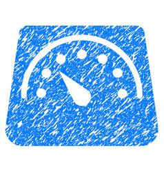 Weight meter grunge icon vector