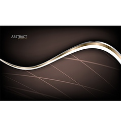 Abstract luxury background with wave vector image
