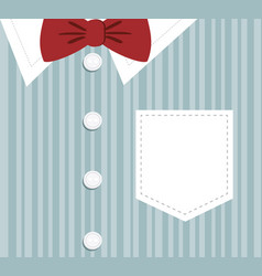 elegant clothes background icon vector image
