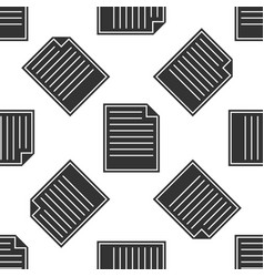 document icon seamless pattern on white background vector image