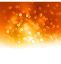 Merry Christmas orange light background vector image