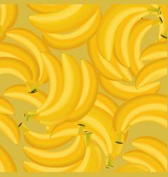 seamless texture of banana vector image