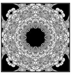 Black mono color Adult vector