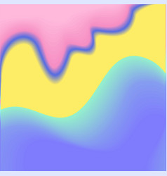 Bright trendy background gradient shapes vector