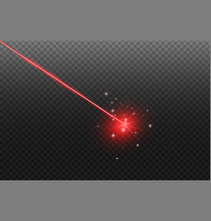 laser security beam isolated vector image