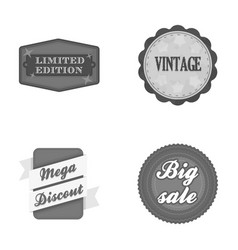 Limited edition vintage mega discont dig sale vector
