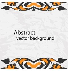 decorative ribbon Abstract vector image