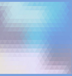 abstract colorful background of triangles vector image
