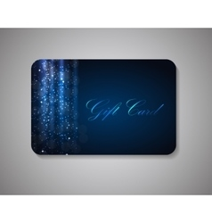 Beautiful Gift Card vector image