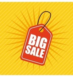 Big sale design vector