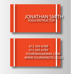 Business Card 2 vector