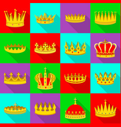 Design medieval and nobility sign vector
