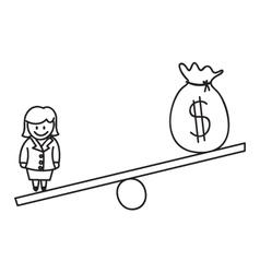 Money Financial Balance vector image