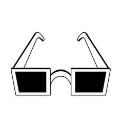 square frame sunglasses icon image vector image vector image
