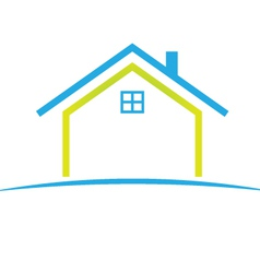 cool house vector image vector image