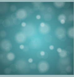 abstract blurred background of turquoise shiny vector image vector image