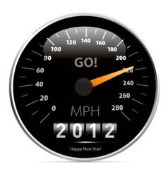 2012 speedometer vector