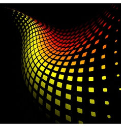 3d abstract dynamic background vector image