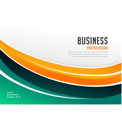Business magazine cover presentation template vector