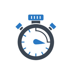 Campaign timing glyph icon vector