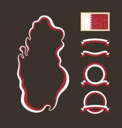 Colors qatar vector