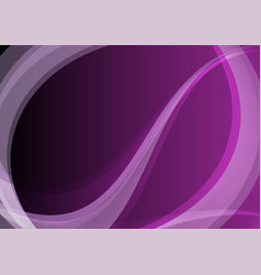 Dark purple abstract waves bright background vector