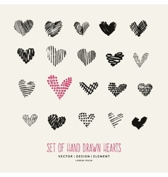 Design elements for Valentine day vector image