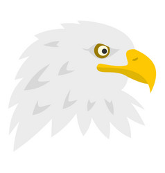 eagle icon isolated vector image