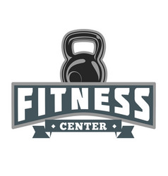 Fitness power logo image vector