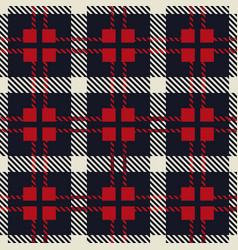 glen checks fabric texture vector image
