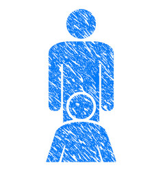 oral sex persons grunge icon vector image
