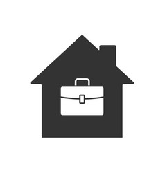 remote work icon vector image