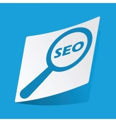 Seo search sticker vector