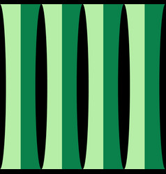 vertical green shades stripes print vector image