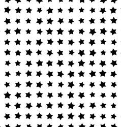 Simple Star Geometric Seamless Pattern vector image