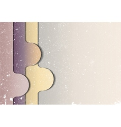 Abstract shapes on gray background vector image